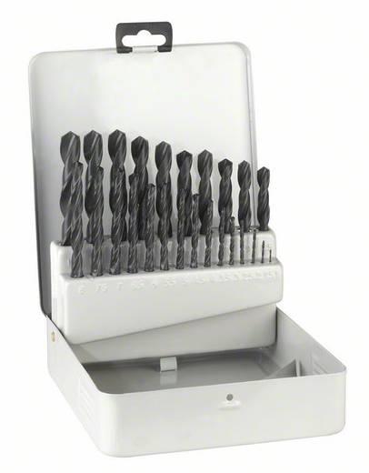 HSS Metall-Spiralbohrer-Set 25teilig Bosch Accessories 2607018725 rollgewalzt DIN 338 Zylinderschaft 1 Set