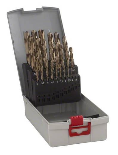 HSS Metall-Spiralbohrer-Set 25teilig Bosch 2608587018 Cobalt DIN 338 Zylinderschaft 1 Set