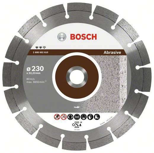 Diamanttrennscheibe Expert for Abrasive, 180 x 22,23 x 2,4 x 12 mm Bosch Accessories 2608602609 Durchmesser 180 mm 1 S
