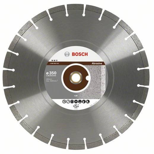 Diamanttrennscheibe Expert for Abrasive, 400 x 20,00+25,40 x 3,2 x 12 mm Bosch Accessories 2608602613 Durchmesser 400 mm