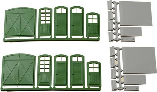 Türen tore  H0 Tore, Türen, Stufen, Rampen Kunststoffbausatz Auhagen 80250 ...