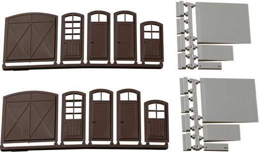 H0 Tore, Türen, Stufen, Rampen Kunststoffbausatz Auhagen 80251
