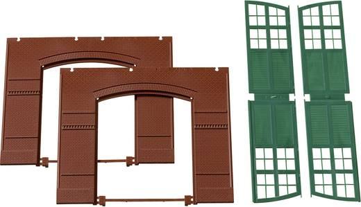 H0 Tore, Wände (B x H) 94 mm x 86 mm Kunststoffbausatz Auhagen 80505