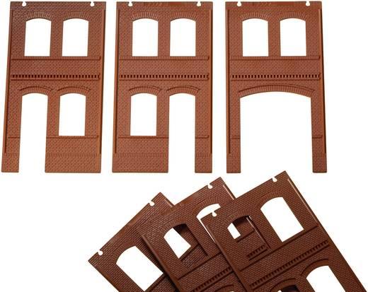 H0 Wände mit Türen, Toren und Fenstern
