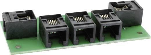 RJ12 4fach-Verteiler (LocoNet) Fertigbaustein Train Modules 75124