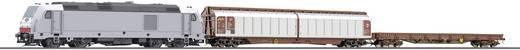 Tillig TT 01424 TT Start-Set TRAXX-Diesellok mit Güterzug