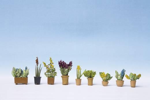H0 9 Zierpflanzen in Blumentöpfen