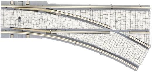 H0 Tillig Straßenbahngleis Luna 87598 Parallelweiche, rechts 30 ° 204 mm