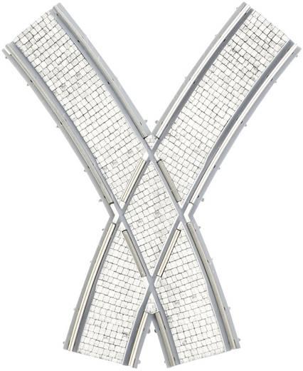 H0 Tillig Straßenbahngleis Luna 87653 Bogenkreuzung, symmetrisch
