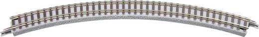 Z Rokuhan Gleis (mit Bettung) 7297002 Gebogenes Gleis 45 ° 195 mm