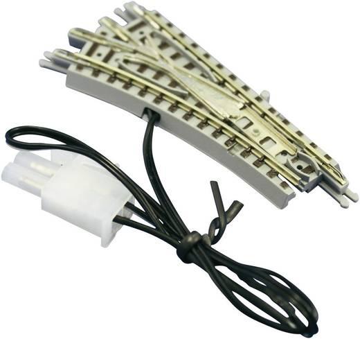 Z Rokuhan Gleis (mit Bettung) 7297022 Weiche, elektrisch, links 55 mm
