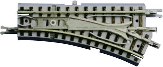 Z Rokuhan Gleis (mit Bettung) 7297023 Weiche, elektrisch, rechts 55 mm 26 ° 127 mm