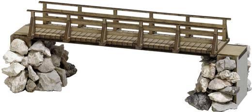 H0 Fußgängerbrücke (L x B x H) 113 x 27 x 45 mm Busch 1497