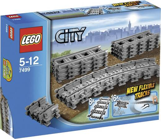 LEGO® CITY 7499 Flexible Schienen