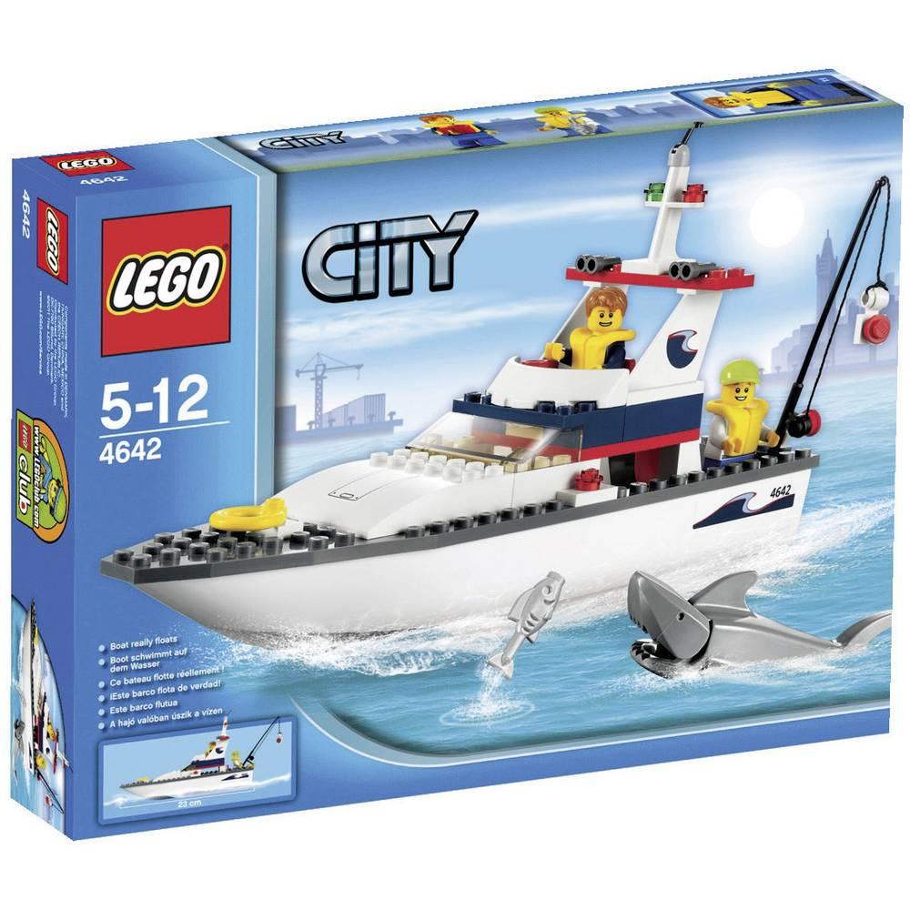 lego city 4642 fishing boat - Lego City Bateau