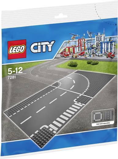 LEGO® CITY 7281 Kurve/ T-Kreuzung