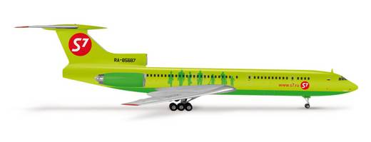 Luftfahrzeug 1:200 Herpa S7 Airlines Tupolev TU-154M 553834