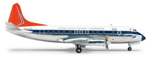 Luftfahrzeug 1:200 Herpa South African Airways Vickers Viscount 800 553957