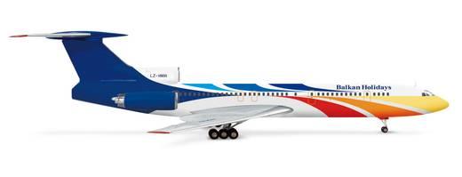 Luftfahrzeug 1:200 Herpa Balkan Holidays Tupolev TU-154M 554046