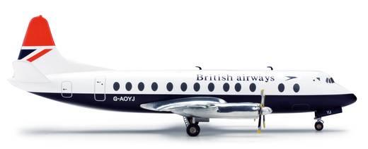 Luftfahrzeug 1:200 Herpa British Airways Vickers Viscount 800 554053