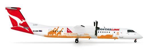 "Luftfahrzeug 1:200 Herpa QantasLink Bombardier Q400 ""Taronga Western Plain Zoo"" 554251"