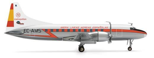 Luftfahrzeug 1:200 Herpa Iberia Convair CV-440 554336