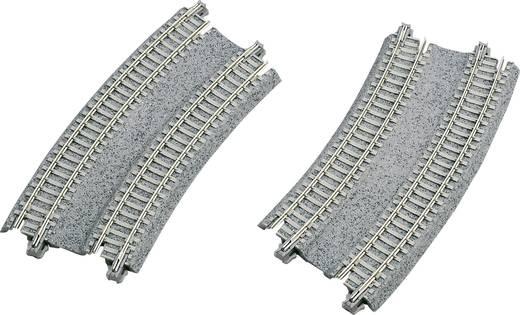 N Kato Unitrack 7078117 Doppelgleis, gebogen 22.5 ° 282 mm, 315 mm