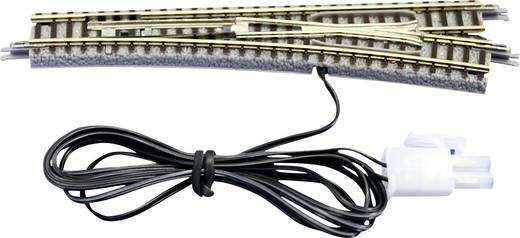 Z Rokuhan Gleis (mit Bettung) 7297039 Weiche, elektrisch, links 110 mm 13 ° 490 mm
