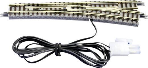 Z Rokuhan Gleis (mit Bettung) 7297040 Weiche, elektrisch, rechts 110 mm