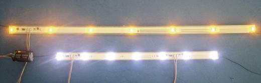 Mayerhofer Modellbau 91952 Waggonbeleuchtung, gelbe LEDs, 220 mm Flackerfrei