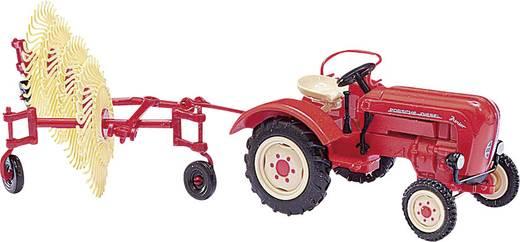 Busch 50007 H0 Porsche Traktor Junior K, Heuwender