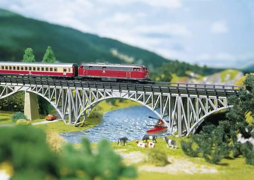 Z Stahlträgerbrücke 1gleisig Universell (L x B x H) 220 x 25 x 47 mm Faller 282915