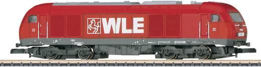 Z Diesellok ER 20 der WLE