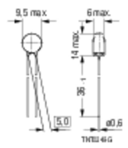 Heißleiter S235 5 Ω Epcos B57235S509M 1 St.