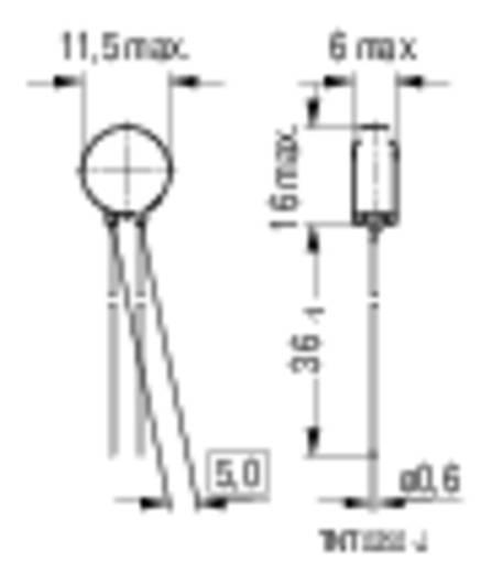 Heißleiter S236 16 Ω Epcos B57236S160M 1 St.