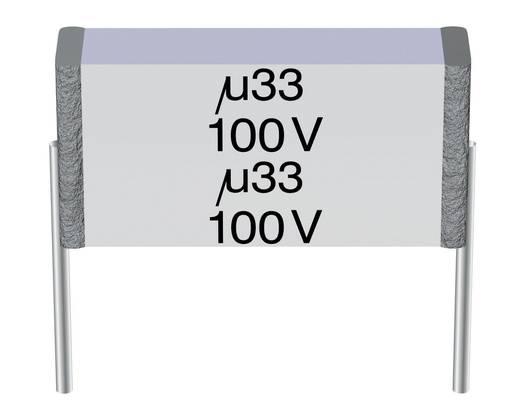 MKT-Folienkondensator radial bedrahtet 0.68 µF 400 V/AC 10 % 15 mm (L x B x H) 16.5 x 8.9 x 10.8 mm Epcos B32562-J6684-K 1 St.