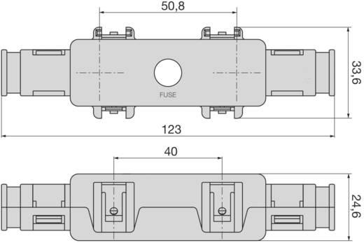 Sicherungshalter Passend für Hochleistungssicherung 250 A 32 V/DC ESKA 01.00380 1 St.