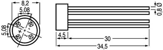 Brückengleichrichter Diotec B250R Round 600 V 2 A Einphasig