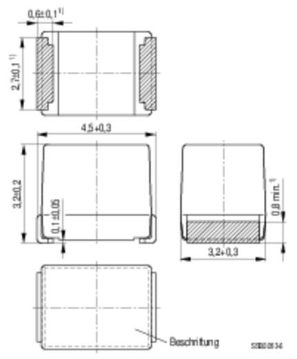 HF-Drossel SMD 1812 100 µH 0.6 A Epcos B82432A1104K 1 St.
