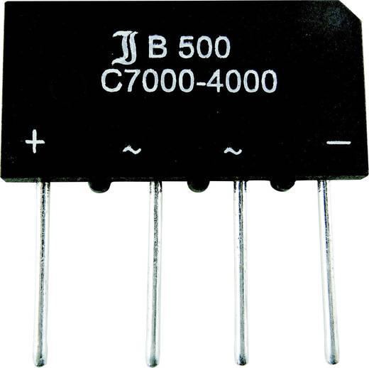Brückengleichrichter Diotec B40C7000A SIL-4 80 V 7 A Einphasig