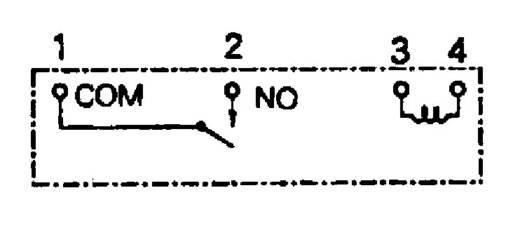Printrelais 12 V/DC 5 A 1 Schließer Takamisawa NY-12W-K-IE 1 St.