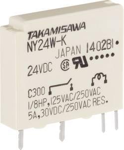 Relé do DPS Takamisawa NY-12W-K-IE, 12 V/DC, 5 A, 1 spínací, 1 ks