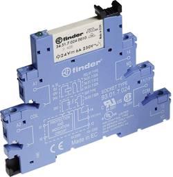 Interface relé Finder 38.61.7.024.5050, 24 V DC, 6 A, 6,2mm, pozlacené kontakty