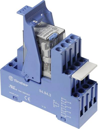 Relaisbaustein 1 St. Finder 59.34.8.230.5060 Nennspannung: 230 V/AC Schaltstrom (max.): 7 A 4 Wechsler