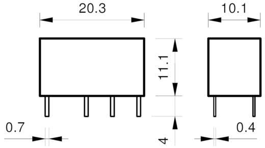 Finder 30.22.7.005.0000 Printrelais 5 V/DC 1.25 A 2 Wechsler 1 St.