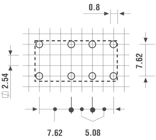 Printrelais 12 V/DC 1.25 A 2 Wechsler Finder 30.22.7.012.0000 1 St.