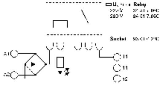 Relaisbaustein 1 St. Finder 38.51.7.006.0050 Nennspannung: 6 V/DC Schaltstrom (max.): 6 A 1 Wechsler