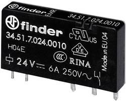 Relé do DPS Finder 34.51.7.012.5010, 12 V/DC, 6 A, 1 prepínací, 1 ks