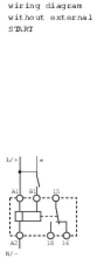 Finder 82.01.0.240 Zeitrelais Multifunktional 1 St. Zeitbereich: 10 h (max) 1 Wechsler
