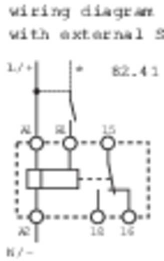 Zeitrelais Monofunktional 1 St. Finder 82.41.0.240 Zeitbereich: 10 h (max) 1 Wechsler